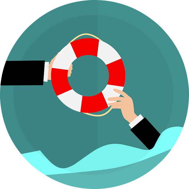 image of life buoy for survival
