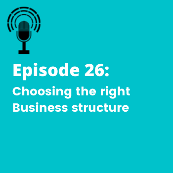 podcast episode on business structures